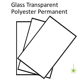 Tansparent Polyester