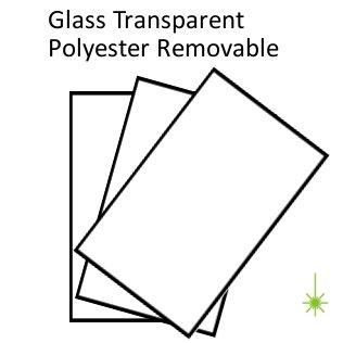 Transparent Poly Peel