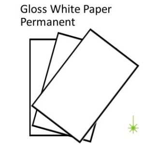 Gloss White Paper