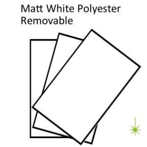 White Polyester Peel