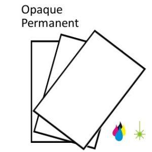 Opaque Paper