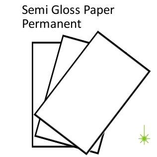 Sem Gloss Paper Perm
