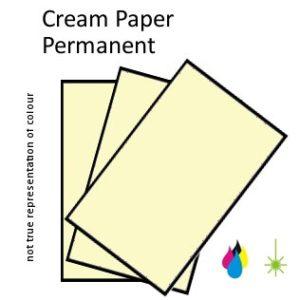 Cream Paper