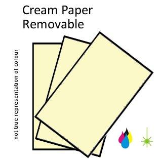 Cream Paper Perm