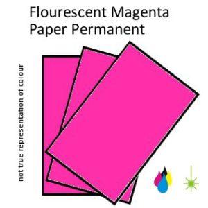Flouro Magenta Paper
