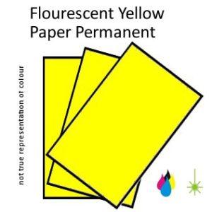 Flouro Yellow Paper
