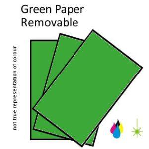 Green Paper Peel
