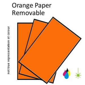 Orange Paper Peel