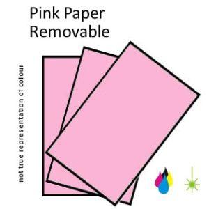Pink Paper Peel