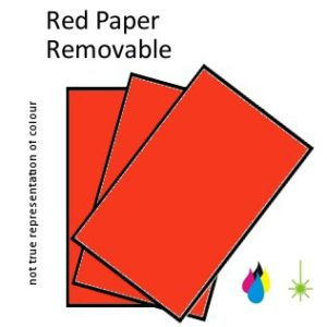 Red Paper Peel