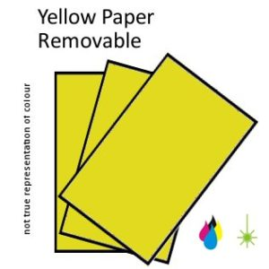 Yellow Paper Peel